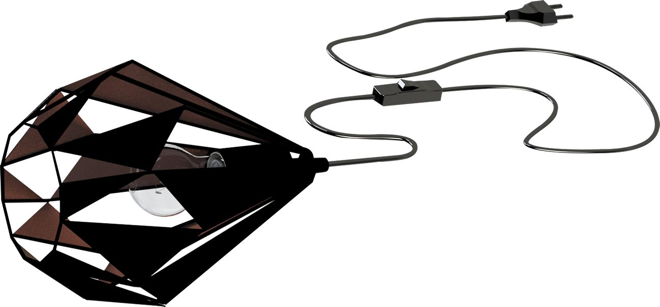 Eglo lampa stołowa Carlton 1 49993 - SUPER OFERTA - RABAT w koszyku
