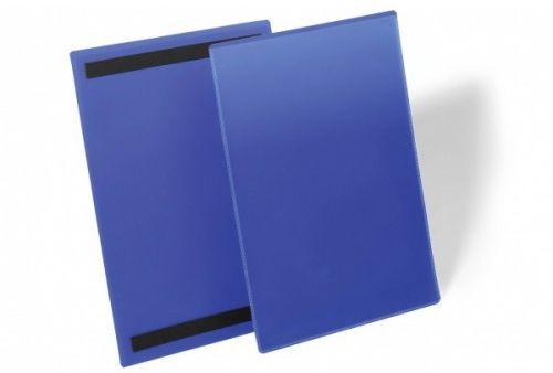 Kieszeń magazynowa magnetyczna DURABLE 210x297mm niebieska (50szt.) 174407