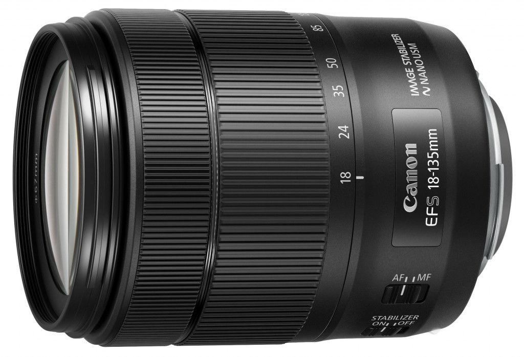 Canon EF-S 18-135mm f/3.5-5.6 IS USM Nano (OEM) Czarny