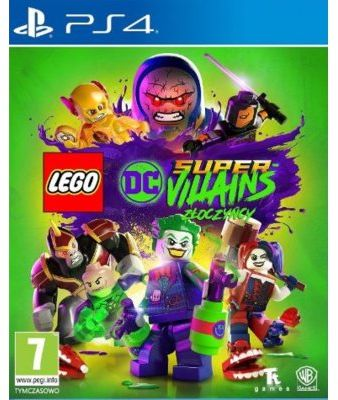 Gra PS4 LEGO DC Super-Villains Złoczyńcy