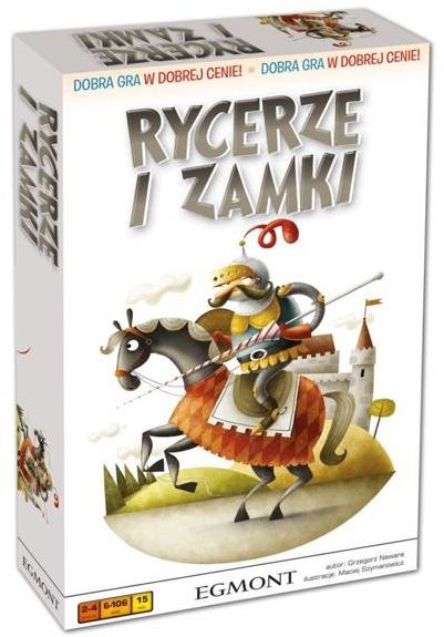 Gra - Rycerze i zamki - Egmont
