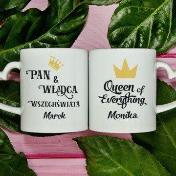 Władca & Królowa - Kubki dla par
