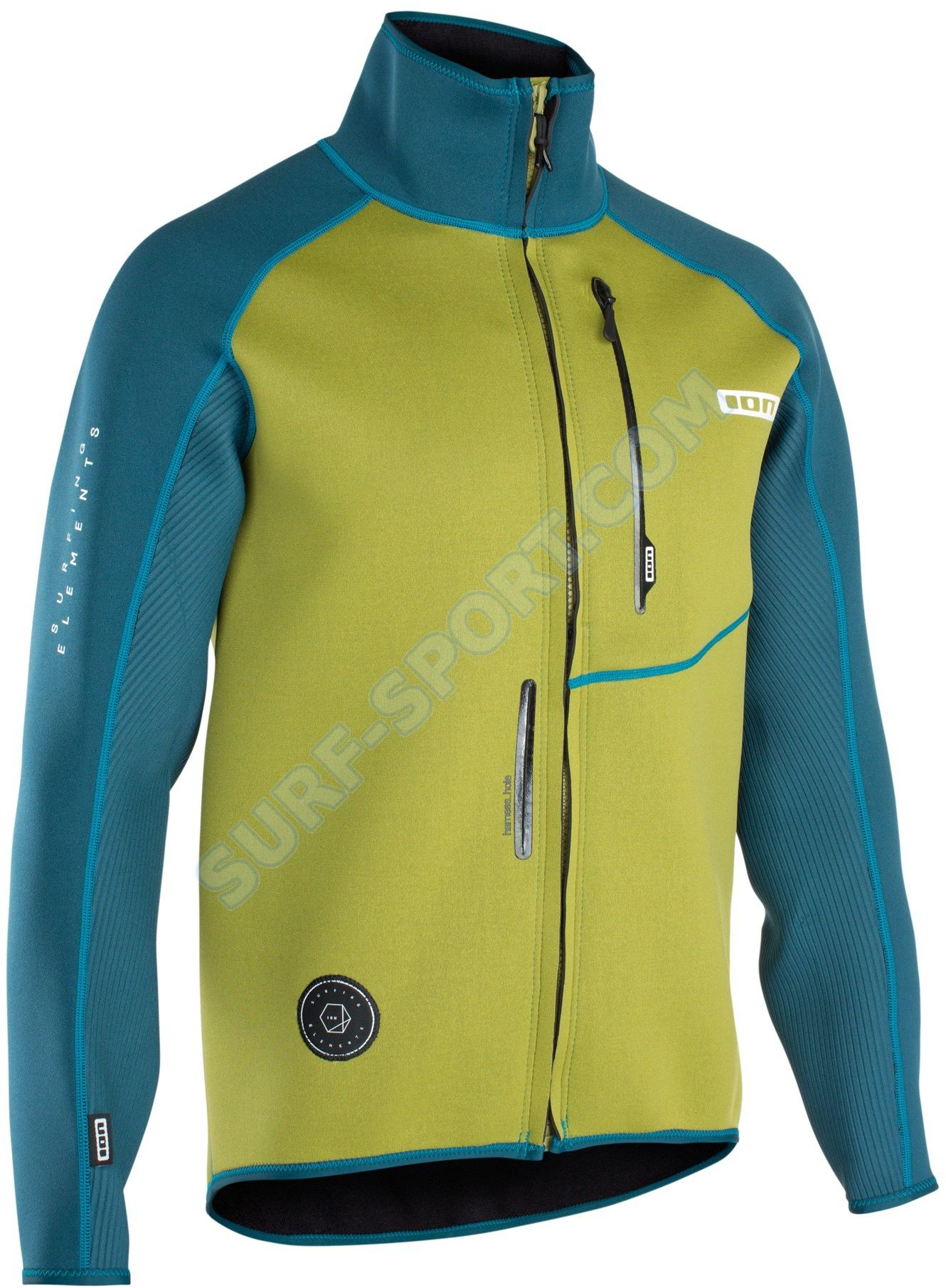 Kurtka Neoprenowa ION Neo Cruise Jacket 2019 Marine / Olive Green
