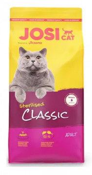 JOSERA JosiCat Classic Sterilised 10kg + niespodzianka dla kota GRATIS!
