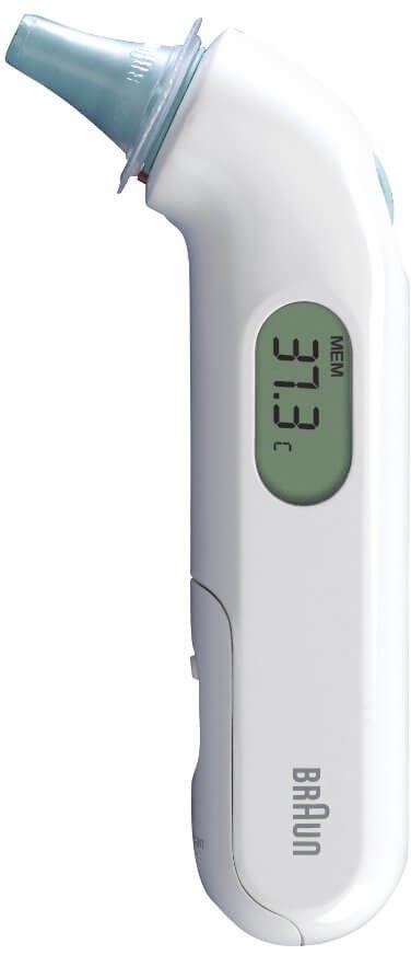 Braun IRT3030 termometr do ucha 1 sztuka
