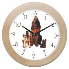 Zegar drewniany rondo sfora