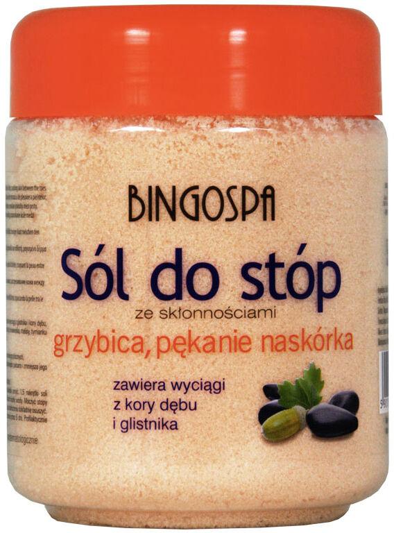 BINGOSPA - Sól do stóp ze skłonnościami do grzybicy i pękania naskórka - 550g