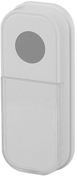 Elektryczny przycisk dzwonka Blyss bezprzewodowy 100 m biały