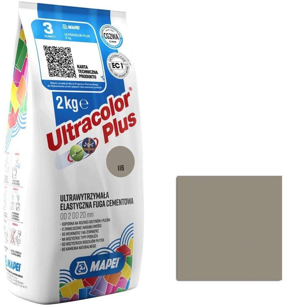 Fuga elastyczna Mapei Ultracolor Plus 116 szałwia 2 kg