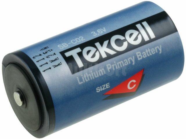 Bateria litowa 3,6V rozmiar C (25,6x49,5mm) 8500mAh Tekcell