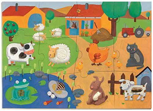 Djeco 81132 ogromne puzzle, mieszane