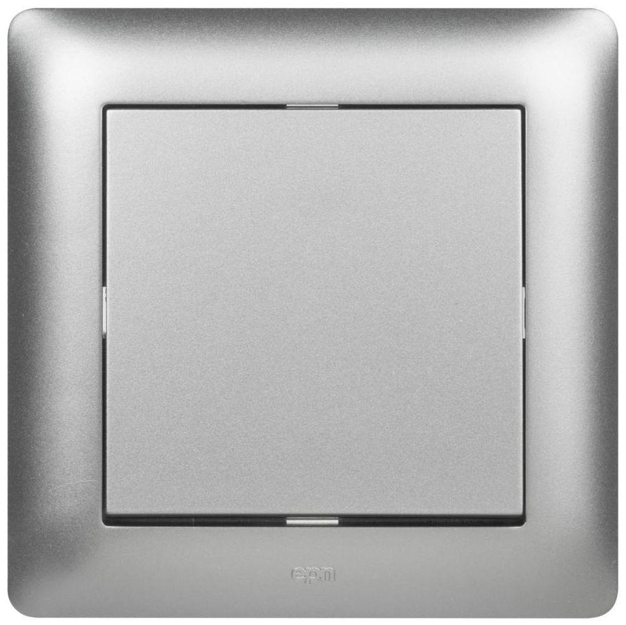 Włącznik pojedynczy ASTORIA srebrny ELEKTRO-PLAST