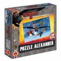 Puzzle 36 gigant Zimno zimno Jak wytresować smoka 2