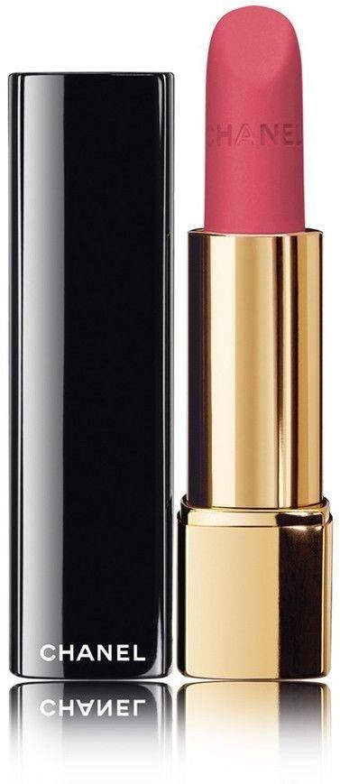 Chanel Rouge Allure Velvet jedwabista pomadka z matowym wykończeniem odcień 34 La Raffinée 3,5 g