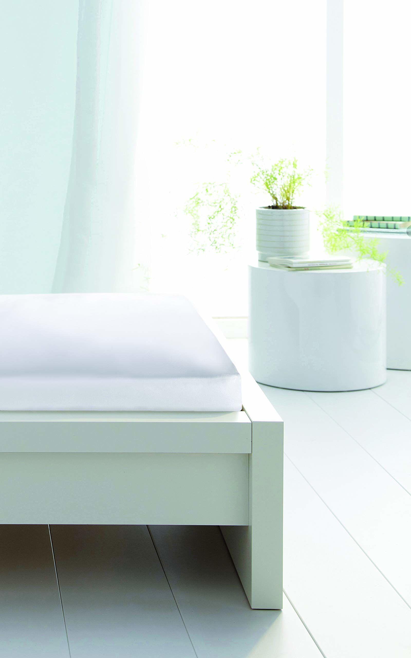 Ochraniacz na materac, chłonny, Molton, 100% bawełna, 140 x 190 cm, biały