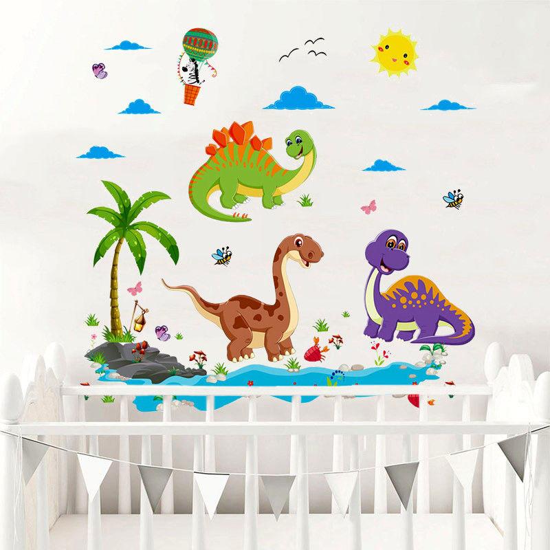 Naklejki ścienne - Dinozaury