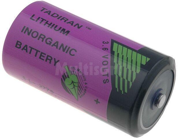 Bateria litowa (LTC) 3,6V rozmiar C (26,2x50mm) 8500mAh TADIRAN