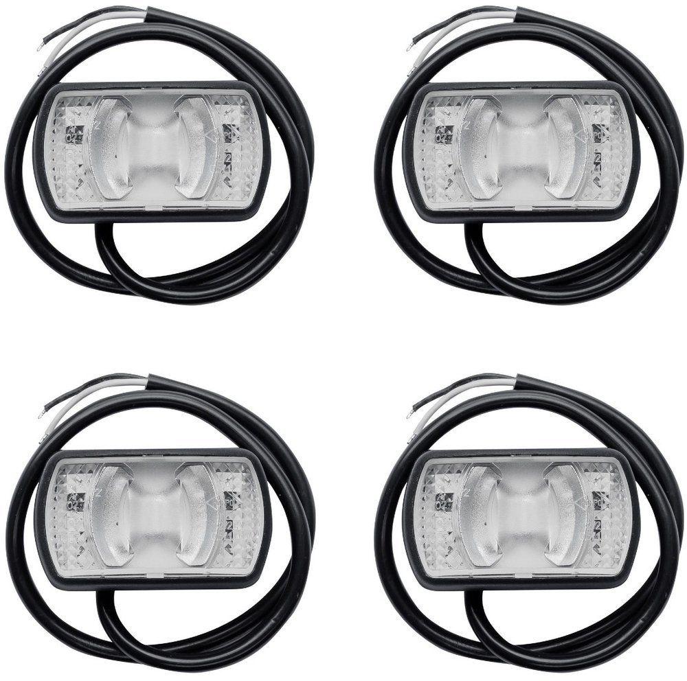 Zestaw 4x lamp obrysowych LED Horpol LD 2227 białych