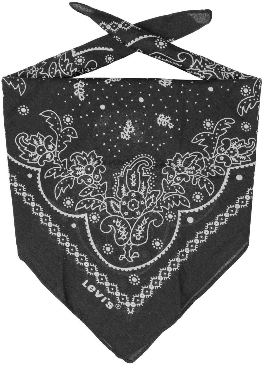 Bandana Paisley by Levi s, czarny, One Size