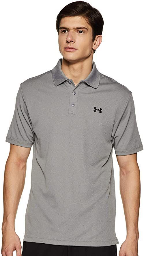 Under Armour UA Performance koszulka polo męska szary szary (True Gray Heather) S
