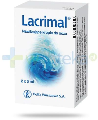 Lacrimal 14mg/ml krople do oczu 10 ml