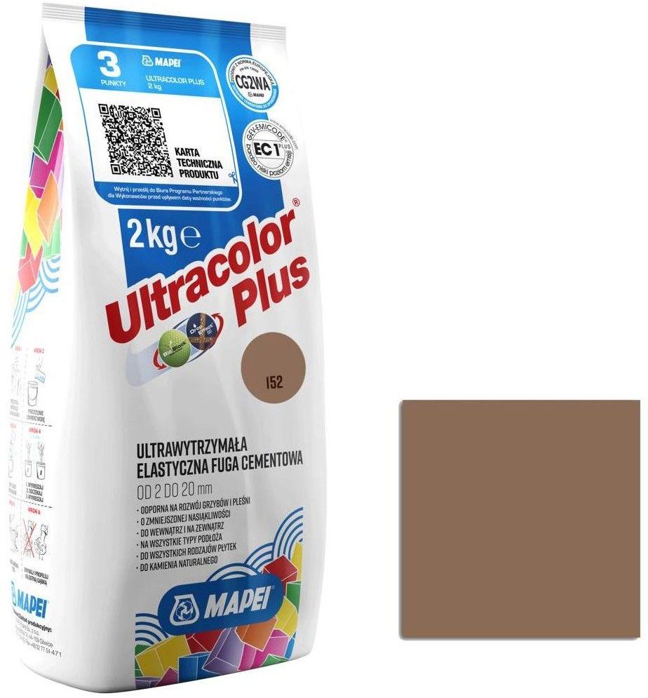 Fuga elastyczna Mapei Ultracolor Plus 152 lukrecja 2 kg