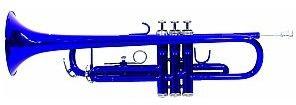 Dimavery TP-10 Bb trąbka, blue