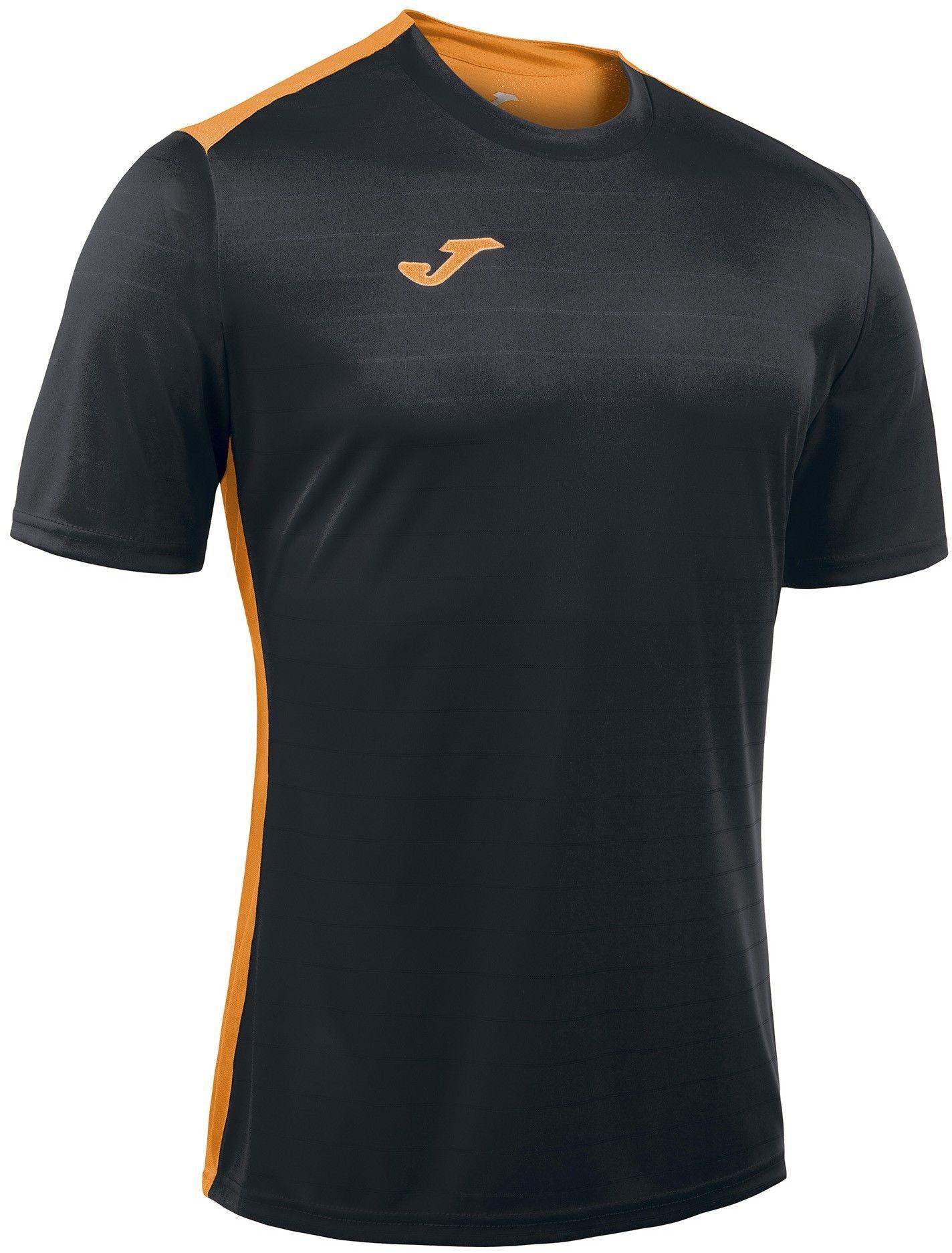Koszulka Joma Campus black/orange fluor (10 szt.)