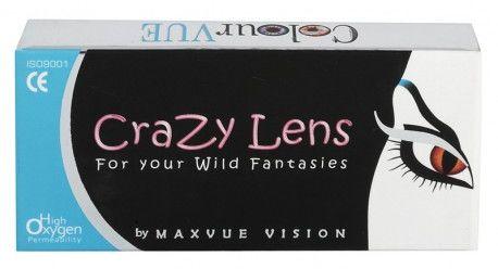 Crazy Lens UV Glow 2 szt. - soczewki świecące w UV TANIE I MARKOWE SOCZEWKI KONTAKTOWE