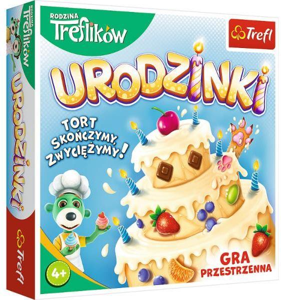 Urodzinki Rodzina Treflików gra 02065 Trefl ZAKŁADKA DO KSIĄŻEK GRATIS DO KAŻDEGO ZAMÓWIENIA