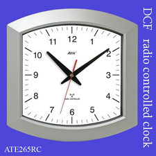 Zegar kwadrat sterowany radiowo DCF #1