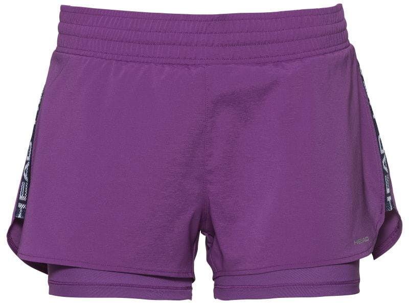 Head Advantage Shorts W - violet