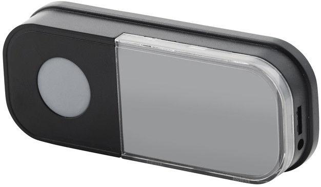 Elektryczny przycisk dzwonka Blyss bezprzewodowy 100 m biało-czarny
