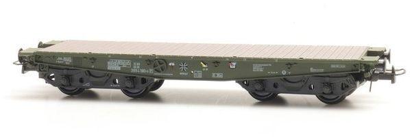Wagon Platforma SSy 55 Bundeswehr 3994 190-5 Gotowy Model H0 Artitec