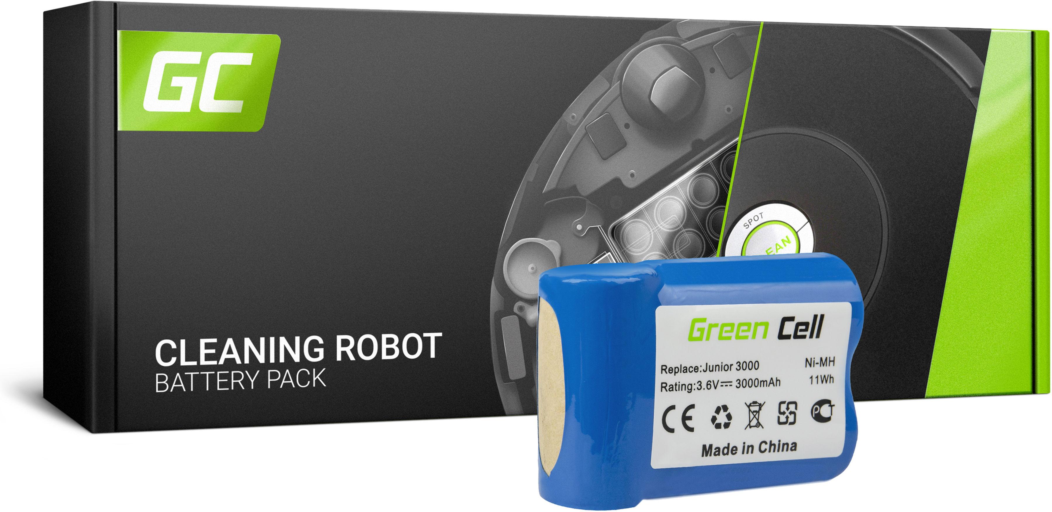 Bateria Akumulator (3Ah 3.6V) 520104 Green Cell do AEG Junior 3000