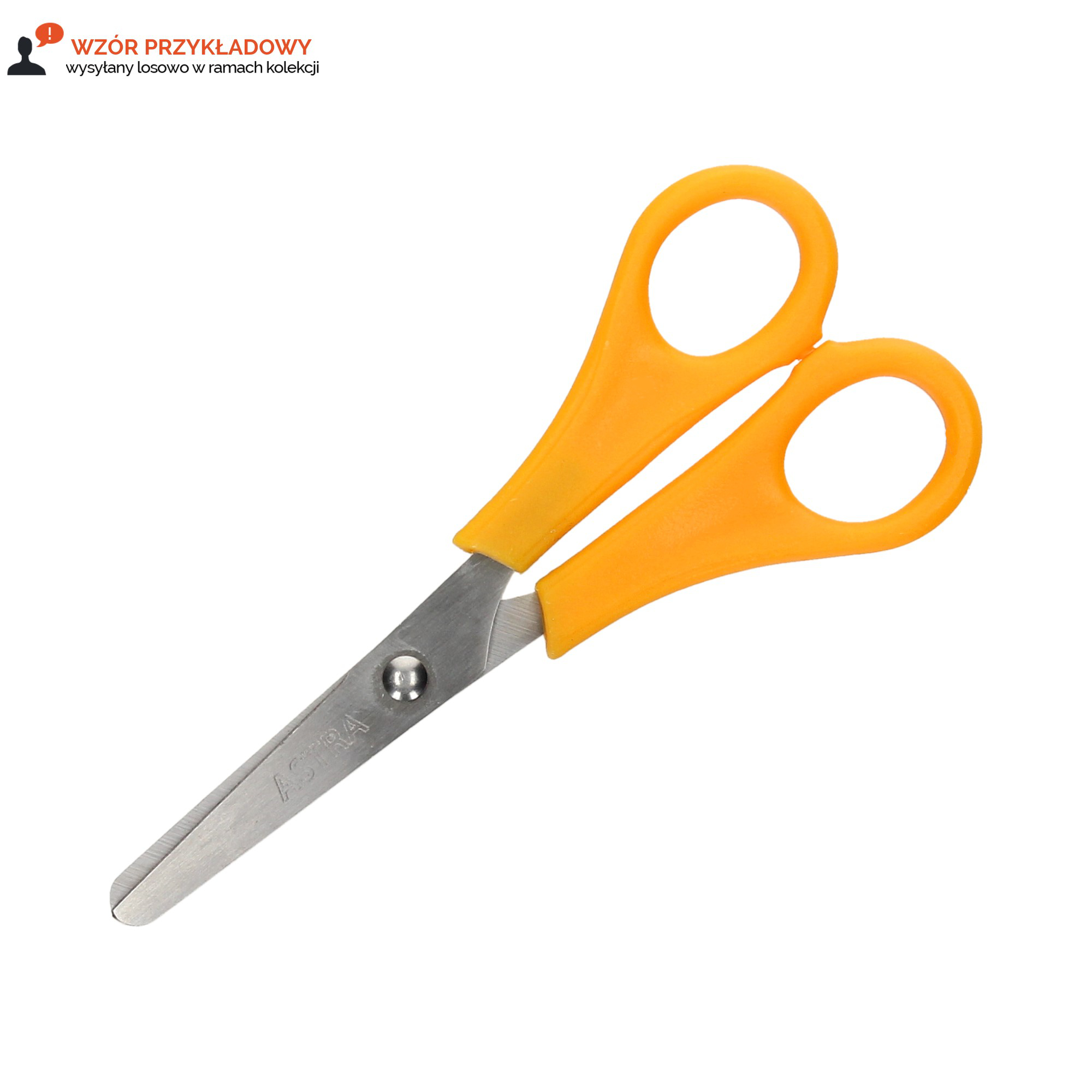 Nożyczki szkolne dla praworęcznych Astra