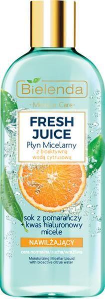 BIELENDA FRESH JUICE  nawilżający płyn micelarny  pomarańcza 500 ml
