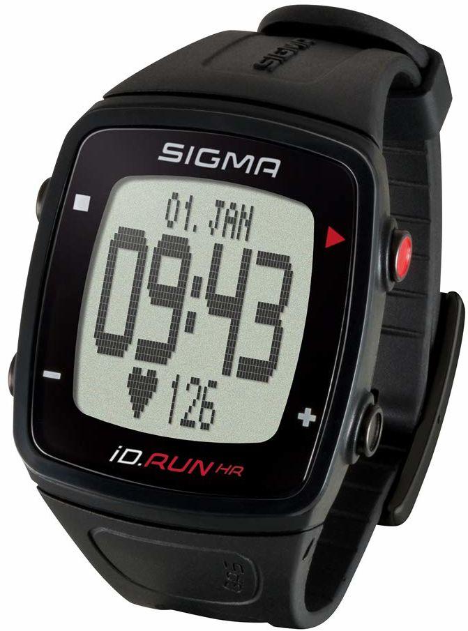 Sigma Sport ID.RUN HR Gps zegarek do biegania, czarny