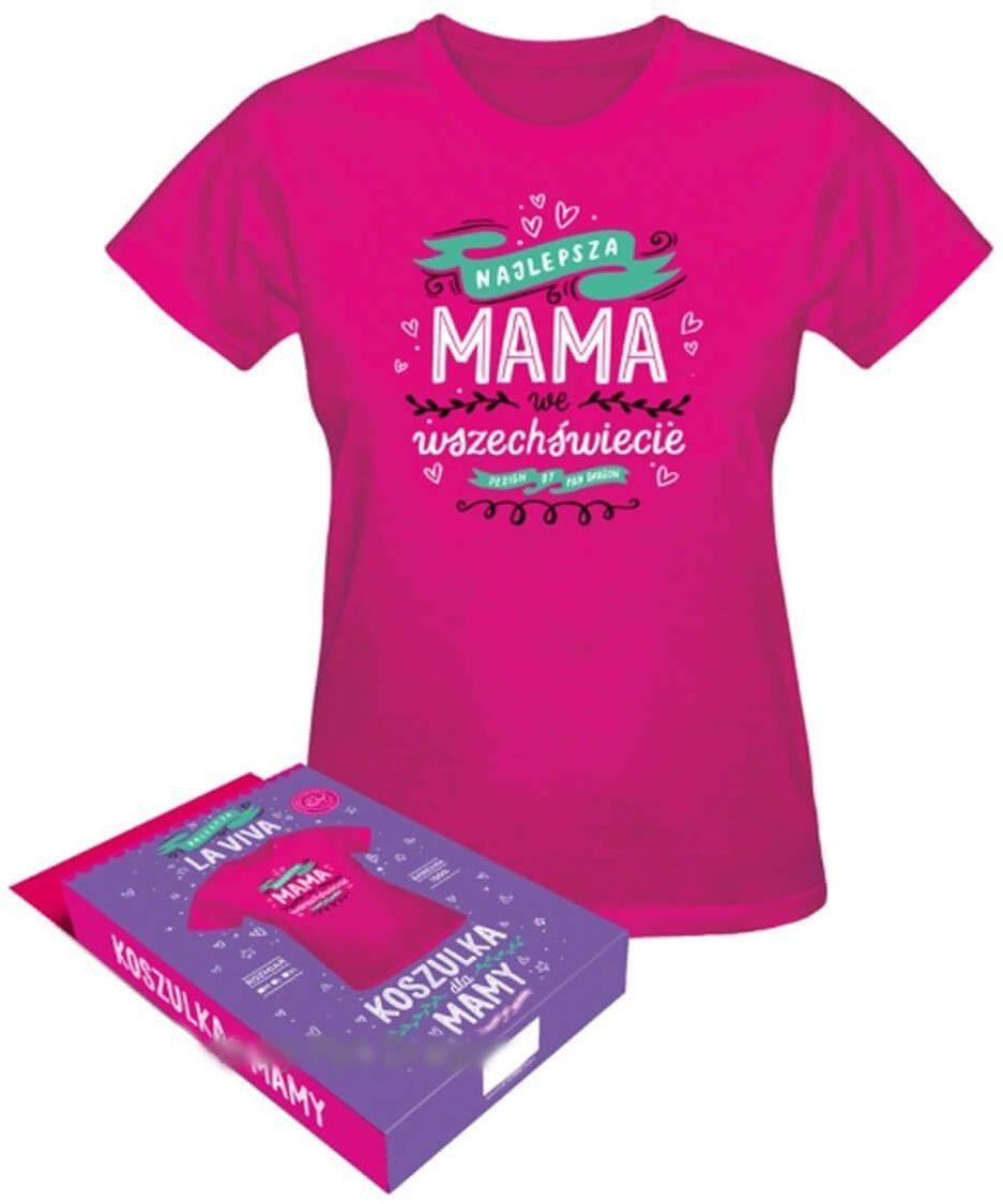 Koszulka z napisem Najlepsza Mama we wszechświecie