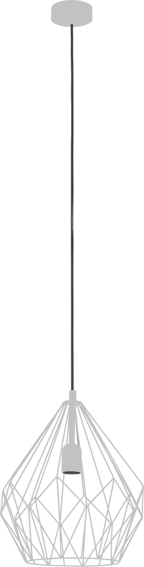 Eglo lampa wisząca Carlton 49935 - SUPER OFERTA - RABAT w koszyku