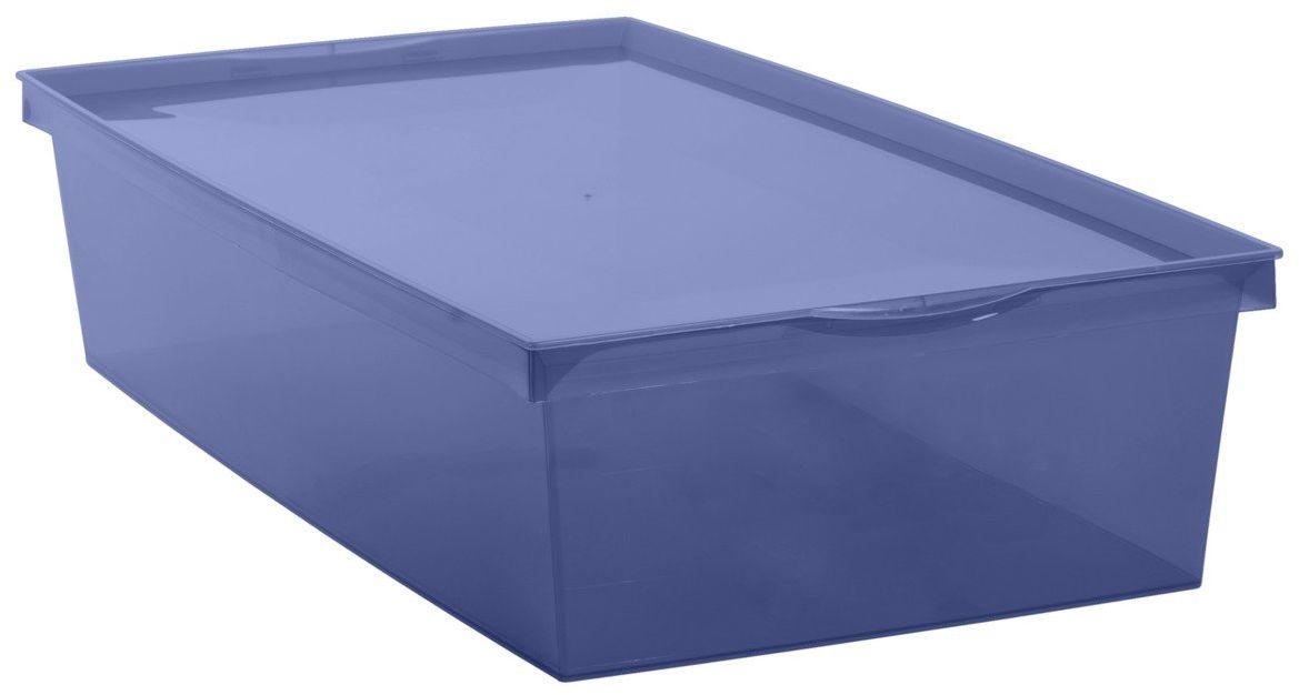 Pudełko Crystaline 18L niebieskie