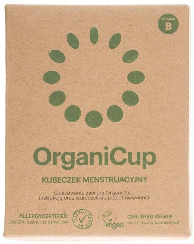 Kubeczek Menstruacyjny ROZMIAR B OrganiCup