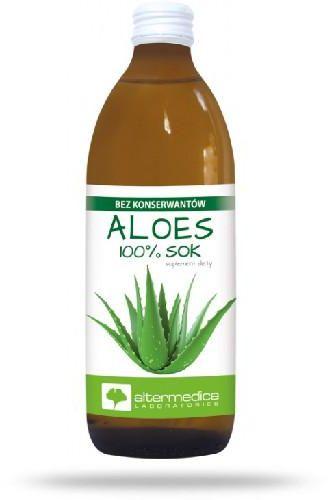 Alter Medica Aloes 100% sok 1000 ml