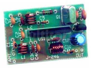 Konwerter kwarcowy CCIR/OIRT na pasmo 88-108 MHz (do montażu)