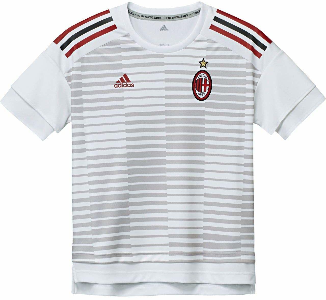 adidas AC Milan 176 koszulka piłkarska dla dzieci, kolor biały