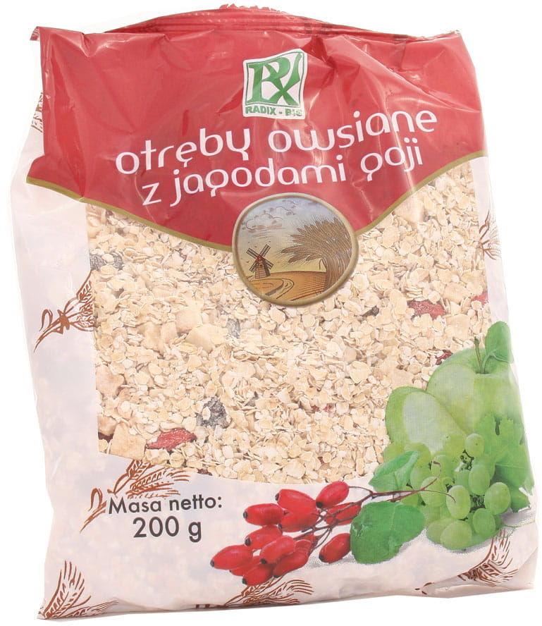 Otręby owsiane z jagodami goji - Radix - Bis - 200g