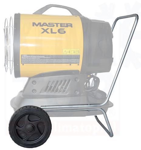 Zestaw kół jezdnych do olejowego promiennika podczerwieni Master XL 6 (kod 4201.159) ** WYSYŁKA GRATIS! **