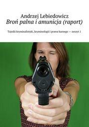 Broń palna i amunicja (raport) - Ebook.