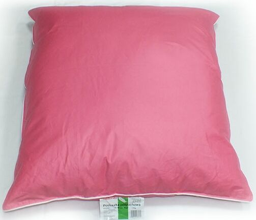 Poduszka Półpuchowa 70x80 Różowa Najtańsza