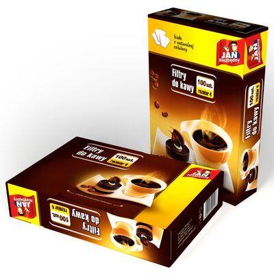 Filtry do kawy JAN NIEZBĘDNY 8571012540 (100 sztuk)